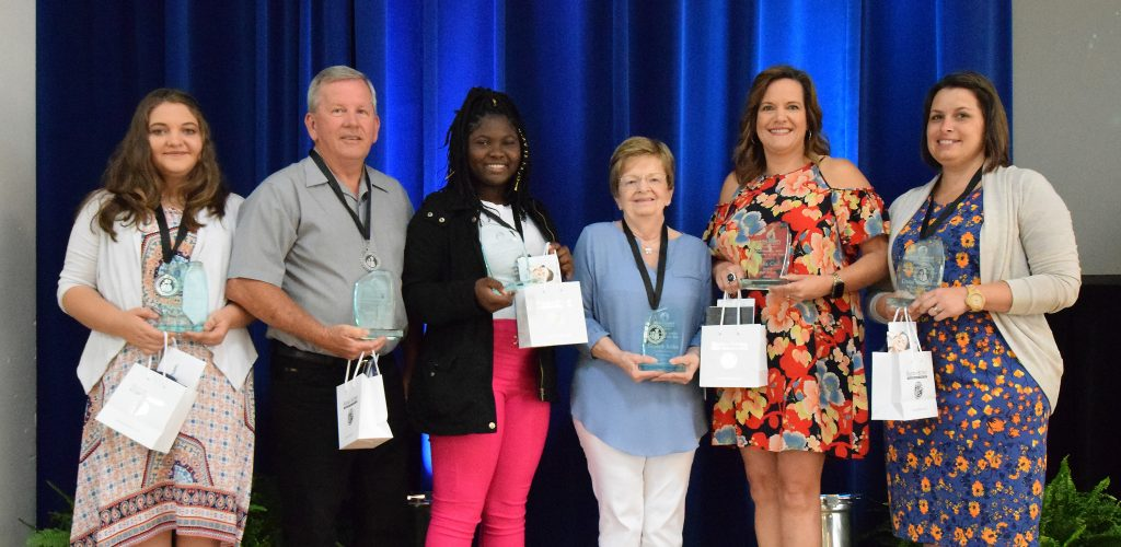 Polk County Public Schools' Volunteer of the Year winners for 2019
