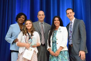 Abigail Lightsey, Frostproof Elementary, 2019 Youth Volunteer of the Year, Elementary level