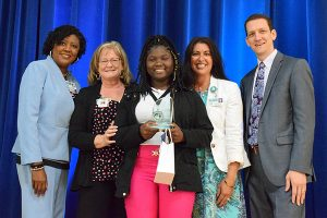 Angiana Pierre, East Area Adult School, 2019 Youth Volunteer of the Year, Secondary level