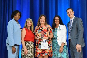 Reba Coil, Bartow Senior High, 2019 Adult Volunteer of the Year, Secondary level