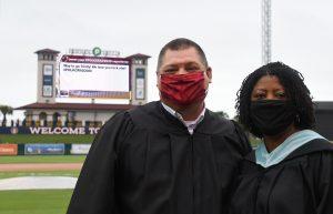 LGHS Principal Ryan Vann and Superintendent Jacqueline Byrd