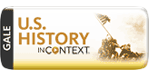 Gale US History in Context logo