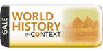 Gale World History In Context logo