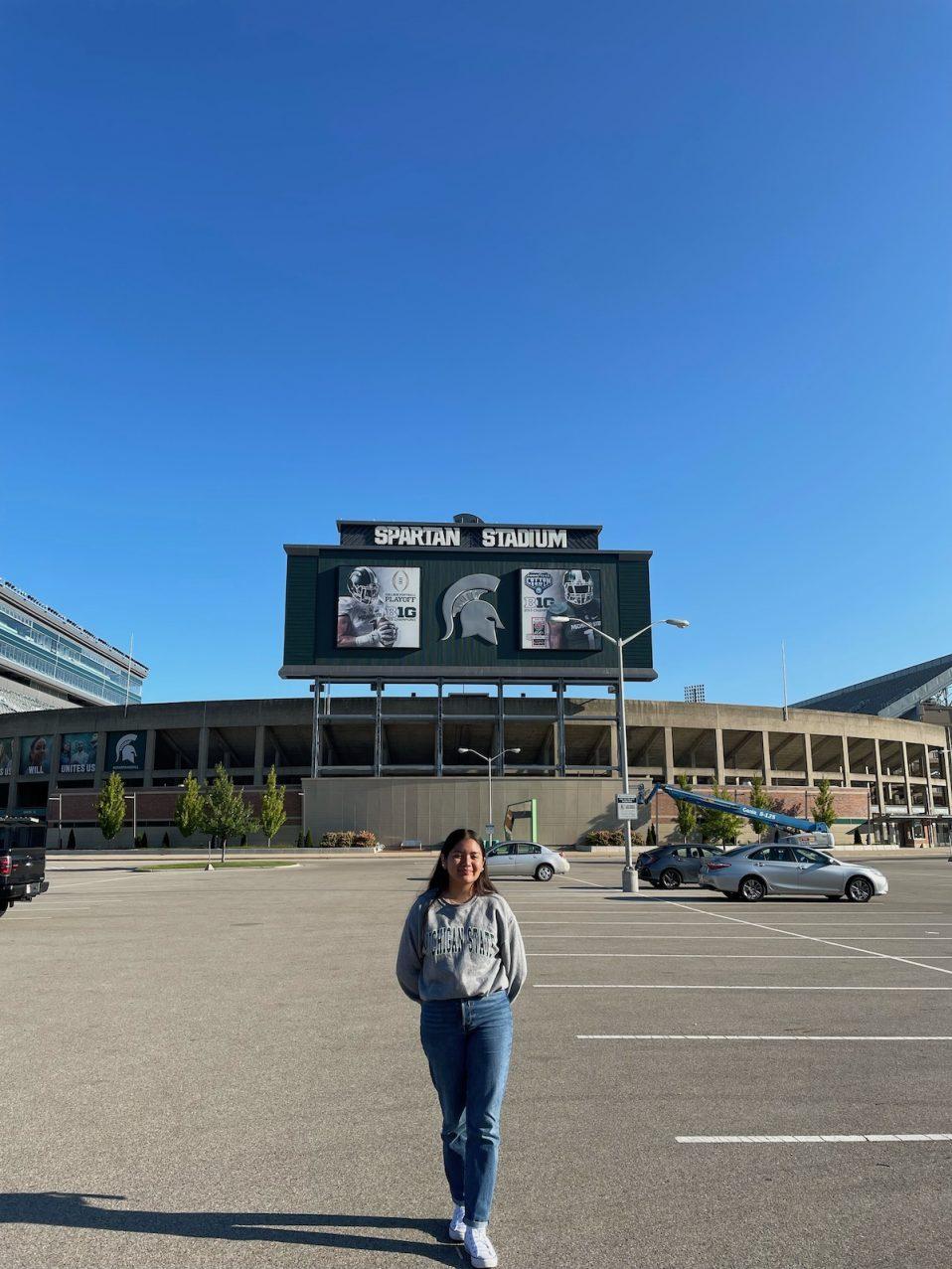 Photo of Luz Vazquez Hernandez at MSU