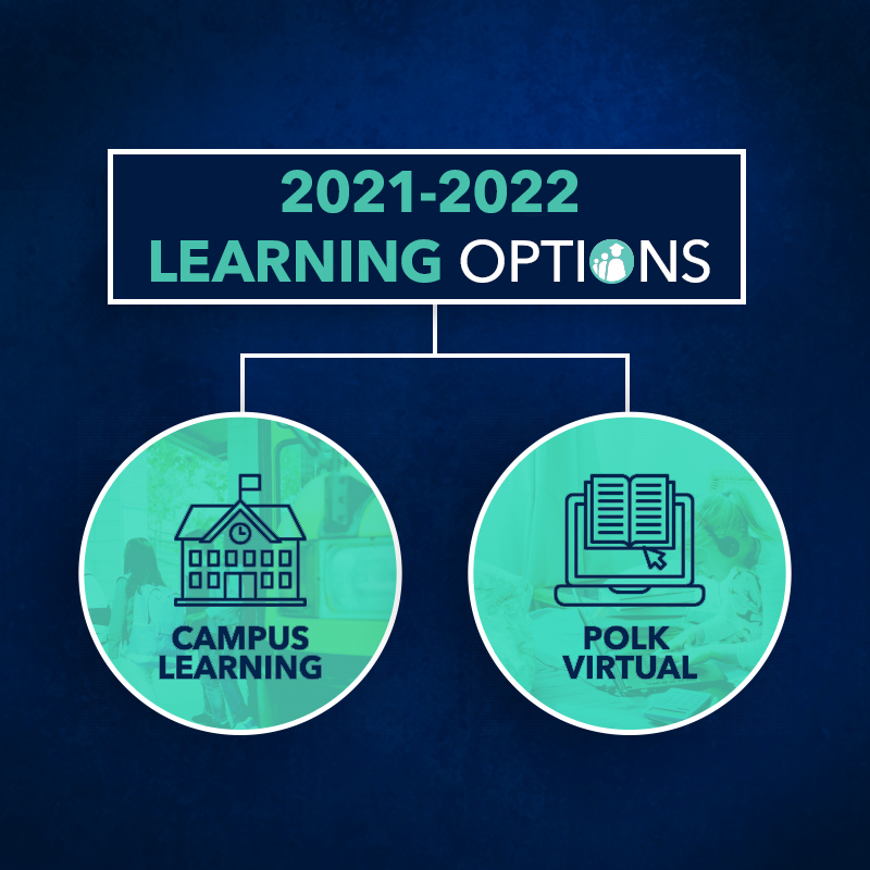 2021-2022 Learning Options: Campus Learning or Polk Virtual